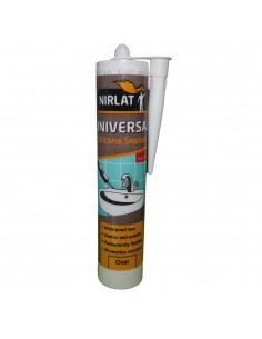 Σιλικόνη γενικής χρήσης διάφανη Nirlat sanitary 280ml